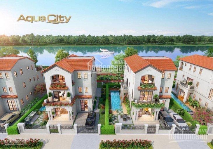 Bán nhà phố Aqua City, 1 trệt 2 lầu, 8x20m, giá rẻ 6.35 tỷ, LH ngay call 0977771919 ảnh 0