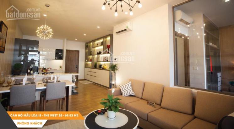 Độc quyền căn hộ The Western Capital 50m2 2PN + 1WC giá tốt nhất thị trường. LH: 0932.00.11.77 ảnh 0