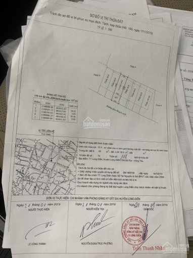 Bán lô MT đường số 8 ngay trung tâm TT Long Điền, BRVT DT 90m2 ảnh 0