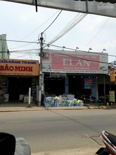 Bán nhà mặt tiền 387 - 389 Nguyễn Thị Tú, P. Bình Hưng Hòa, Q. Bình Tân ảnh 0