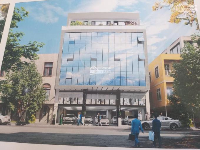 Cho thuê nhà mặt phố Trần Hưng Đạo, DT 110m2, MT 9m, xây 5 tầng, 1 hầm ảnh 0