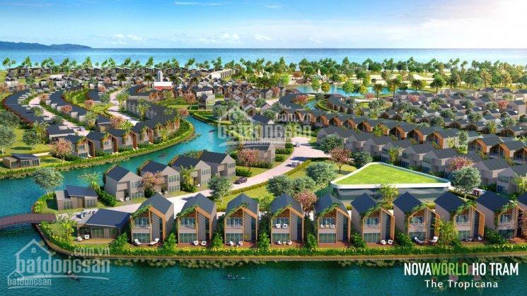 Cần bán BT Novaworld Hồ Tràm - NVW. HT - TFC. 4 - 3.20 DT 160m2 ngay hồ giá gốc đợt 1 5.67tỷ/căn ảnh 0