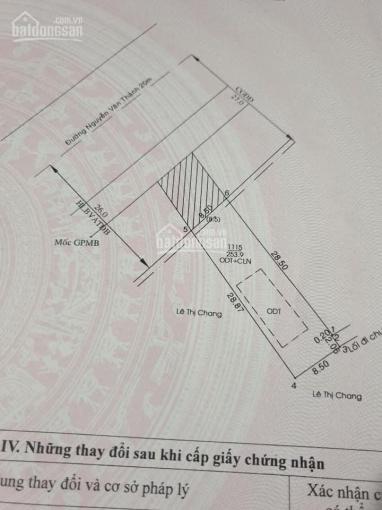 Bán lô đất mặt tiền QL14 Nguyễn Văn Thành gần ngã 4 MPTV 500m sắp thông DT 8,5x29m tc 60m2 giá 7 tỷ ảnh 0