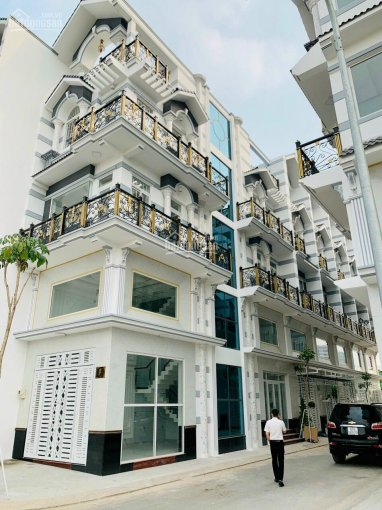 Nhà phố cao cấp LK bến xe quận 8, DT: 4x16m, 1 trệt, 3 lầu, nhà xây mới (sổ hồng chính chủ) ảnh 0