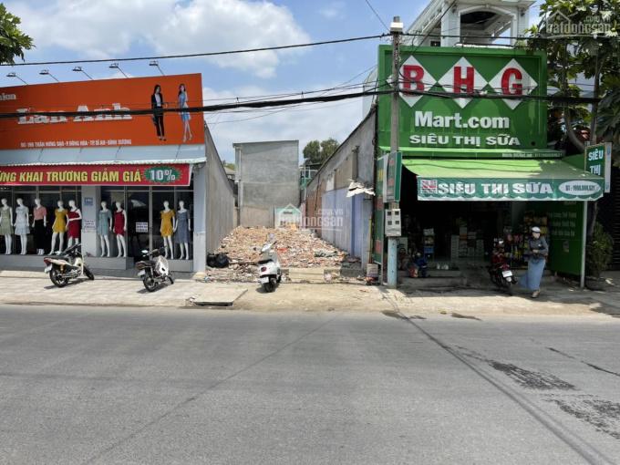 Bán đất mặt tiền đường Trần Hưng Đạo trung tâm Thành Phố Dĩ An vị trí đẹp ngay đoạn giữa chợ 6.7 tỷ ảnh 0