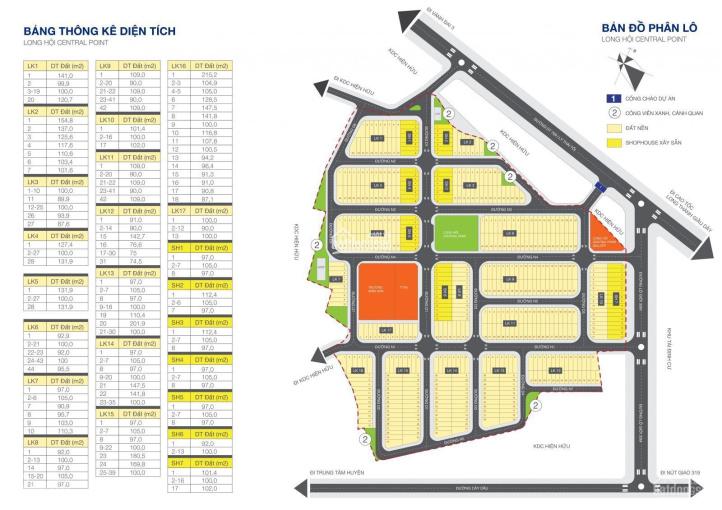 Bán đất Long Hội Central Point, Nhơn Trạch, Đồng Nai, giá chỉ từ 1.425 tỷ, LH: 0901461505 ảnh 0