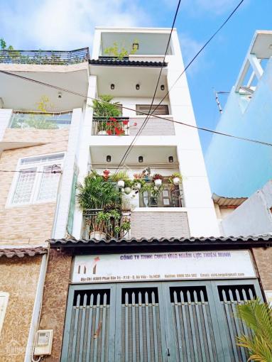 Cho thuê nguyên căn nhà 1 trệt 3 lầu, DT 3.5 x 14m, hẻm rộng 6m Phan Văn Trị, Phường 10, Gò Vấp ảnh 0