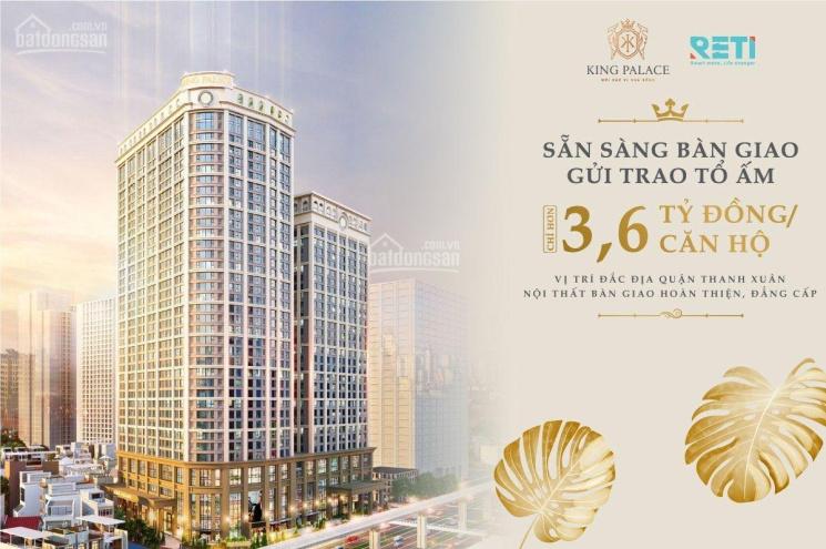 King Palace Nguyễn Trãi bảng hàng chính thức 3.6 tỷ~ 4.5 tỷ căn 2pn 81 - 93m2 - 124m2 (0983444007) ảnh 0
