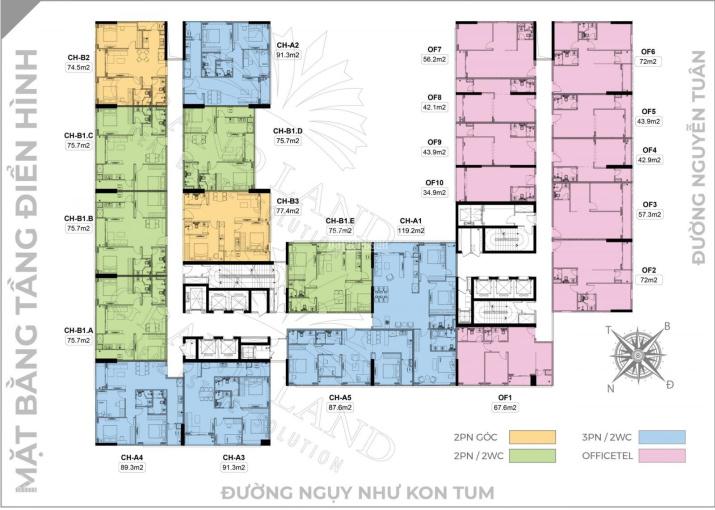 Bán cắt lỗ căn hộ 1110 chung cư Harmony Square Ngụy Như Kon Tum rẻ hơn CĐT 150tr ảnh 0