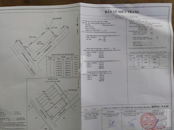 Cần bán: Đất cạnh KCN Tây Bắc Củ Chi, giá 4tỷ2, liên hệ: Anh Tuấn (0912667783) ảnh 0