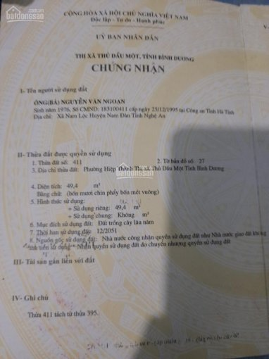 Bán nhà P. Hiệp Thành, đường Nguyễn Văn Trỗi, DT: 4x12m, thổ cư 100%, giá 1.6 tỷ ảnh 0