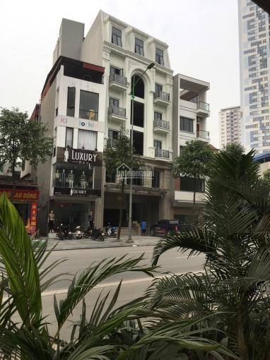 Nhà MP Quang Trung, Hà Đông, DT 550m2x7 tầng giá thuê có hầm 2 thang máy giá thuê 400 triệu ảnh 0