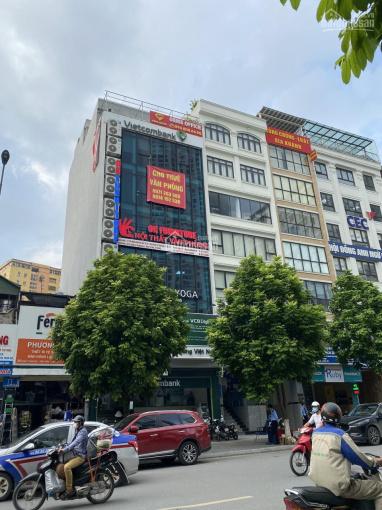 Chính chủ cho thuê mặt bằng văn phòng siêu đẹp, tòa Vietcombank Khúc Thừa Dụ, Cầu Giấy. DT 120m2 ảnh 0