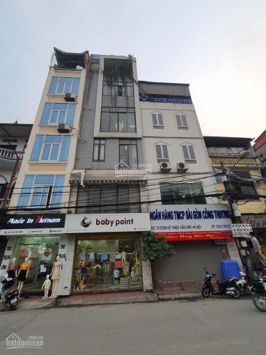 Cho thuê nhà phố Nguyễn Khánh Toàn 90m2, 6 tầng, MT 10m nhà hàng trung tâm Quận Cầu Giấy, giá 55tr ảnh 0