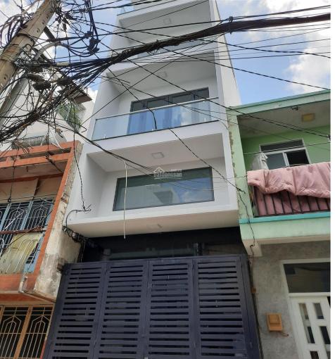 Nhà mới xây 4 lầu cực đẹp hẻm xe hơi 5m Phạm Văn Chí Q. 6 ảnh 0