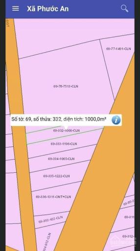 Bán đất chính chủ Phước An, MT D9, Nhơn Trạch ảnh 0