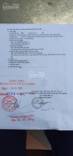 Bán đất Bảo Ninh, đường hơn 10m thông thẳng qua 36m và đại đô thị Bảo Ninh 1, 2, vị trí đắc địa ảnh 0