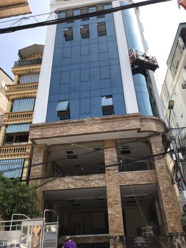 Cho thuê tòa nhà MP Nguyễn Xiển, Thanh Xuân, HN. DT 130m2, 9 tầng, lô góc đẹp, thang máy, điều hòa ảnh 0