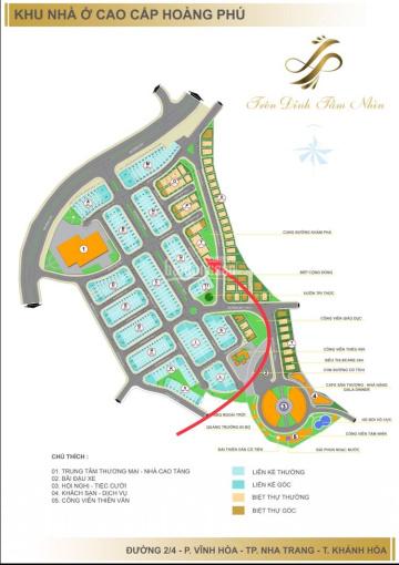 Bán đất biệt thự Đường A5 KĐT Hoàng Phú Nha Trang tại Nha Trang, Lô T9 160m2 (ngang 10m) 12,5trd/m2 ảnh 0
