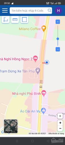 Đất mặt tiền QL 20, Km140 tại Tân Phú, Đồng Nai ảnh 0