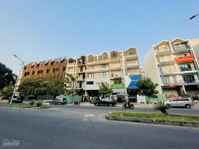 Cần tiền bán gấp nhà MT đường D1 Him Lam Kênh Tẻ Q7, DT 5x20m, XD hầm trệt 3 lầu, SHR, giá 27 tỷ ảnh 0