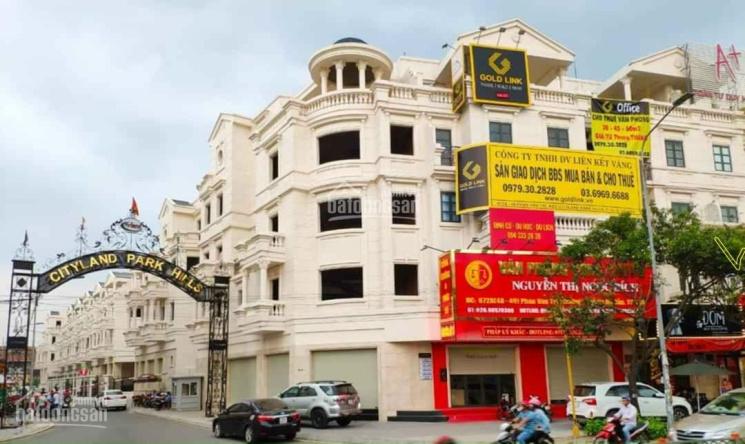 Cho thuê nhà phố mặt tiền Phan Văn Trị 55 triệu/tháng rẻ nhất Cityland cam kết. LH: 0836.311.286 ảnh 0