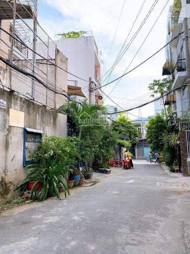 Bán nhà hẻm 6m khu chợ vải Phú Thọ Hòa, Tân Phú, 4x19m vuông vức, không bị lỗi. Giá 6,5 tỷ TL ảnh 0