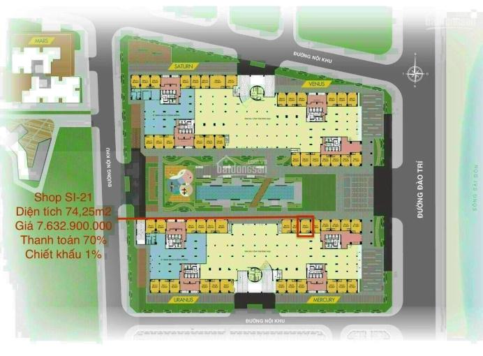 Duy nhất hàng chủ đầu tư căn hộ Shophouse Q7 Saigon Riverside Complex 74m2, giá 8.3 tỷ ảnh 0