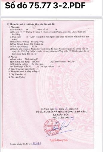 Sở hữu ngay lô đất vị trí vàng ở Đà Nẵng. LH: Mr Huy 0901982345 HH 1% MG ảnh 0