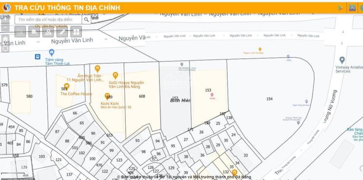Bán đất mặt tiền Nguyễn Văn Linh - Hải Châu gần cầu Rồng, DT: 624m2, giá 300 triệu/m2: 0906.5252.99 ảnh 0