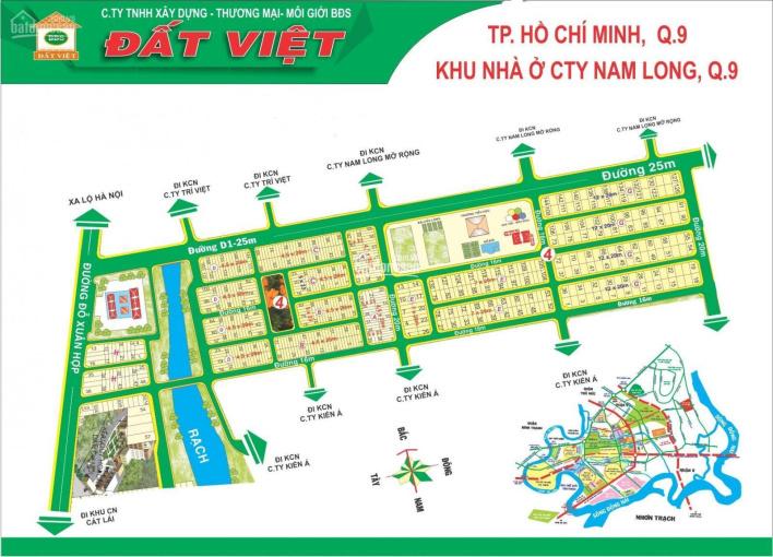 Cần bán đất nền khu dân cư Nam Long, Phước Long B, Quận 9 (TP. Thủ Đức) ảnh 0