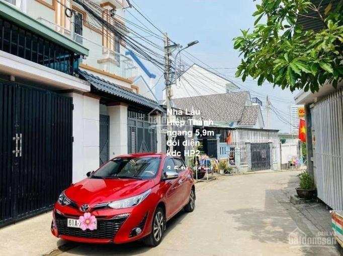 Nhà lầu Hiệp Thành ngang 5,9m đối diện KDC HP2 3,5 tỷ-84.3m2 đường Nguyễn Đức Thuận, Hiệp Thành ảnh 0