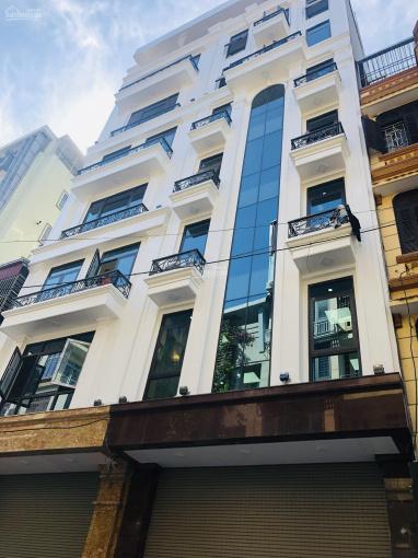 Bán tòa nhà phố lớn gần hồ Kim Đồng 80m2x8T, thang máy, 15.3 tỷ, gara ôtô, ở + KD thu 750tr/năm ảnh 0