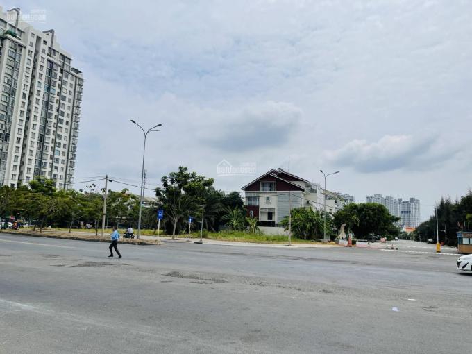 Chính chủ bán lô góc 2 MT đường Nguyễn Lương Bằng và Hoàng Quốc Việt Q7, DT 16,3x24m (393m2), 50 tỷ ảnh 0