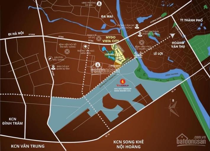 Chính chủ cần pass 02 căn shophouse suất ngoại giao dự án siêu hot Mỹ Độ Vista City Bắc Giang ảnh 0
