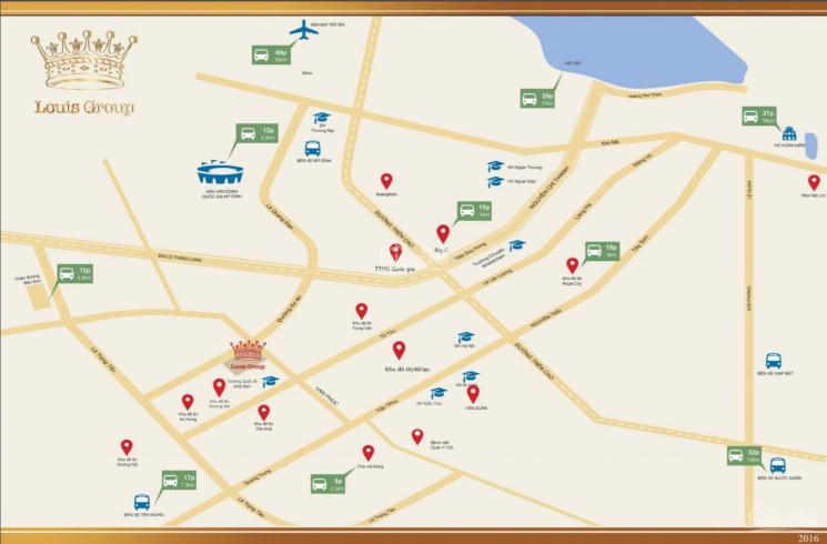 Chính chủ cần bán nhanh LK Louis City Đại Mỗ căn Louis II đường 12m giá 77 triệu/m2. LH 0912494947 ảnh 0