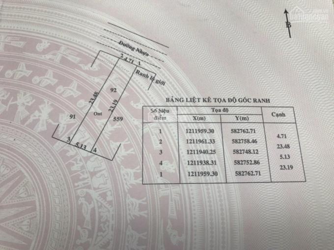 Chính chủ cần bán Lô đất nền cuối cùng lộ 1 Tân Định, Đ Võ Thị Dòn, ấp Tân Định, X Tân Thông Hội ảnh 0
