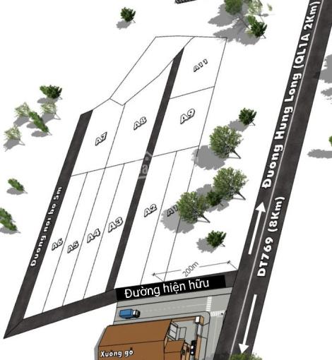 Đất sào sát dân cư, gần đường 20, Hưng Thịnh, ngay sau Cty Kim Minh Hải, giá đầu tư F1 ảnh 0