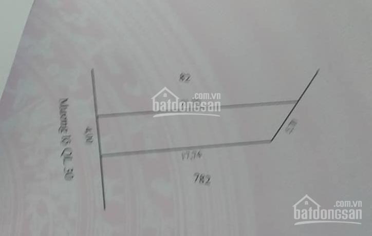 Bán nền 79m2 (4x18, thổ 72m2) Quốc lộ 30, TT Mỹ Thọ, Huyện Cao Lãnh ảnh 0