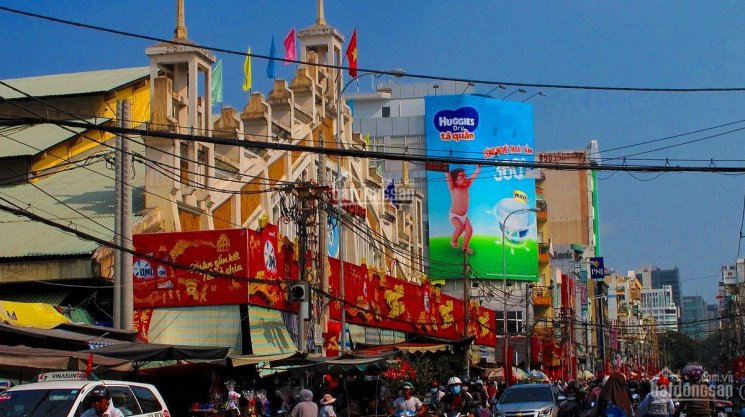 MT hiếm hoi tại chợ Tân Định đường Nguyễn Hữu Cầu, Q1, 6m x 22.5m nở hậu 7m ảnh 0