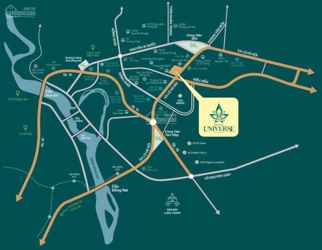 Bán căn hộ biểu tượng thành phố Biên Hòa, chiết khấu 4% - 18%, LH: 0909867992 ảnh 0