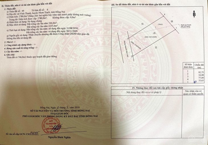 Đất mặt tiền trung tâm Nhơn Trạch, Đồng Nai, giá rẻ đầu tư, LH 0938018384 / 0988.524.102 ảnh 0