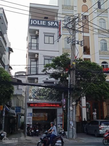 Cho thuê nhà góc 2MT đường rất đắc địa kinh doanh Nguyễn Thái Sơn, P4, Gò Vấp. 4x16m, trệt 4 lầu ST ảnh 0