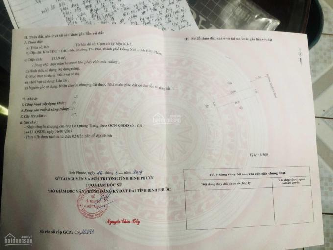 Bán lô đất đường Nguyễn Chí Thanh - Đồng Xoài, Bình Phước ảnh 0