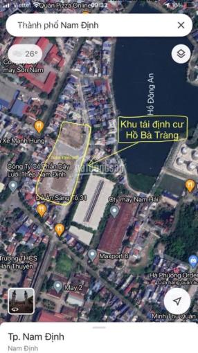 Chính chủ bán 2 lô đất 79m2 - 76m2 tại hồ Bà Tràng, đường Nguyễn Văn Trỗi, vị trí đẹp, đường to 24m ảnh 0