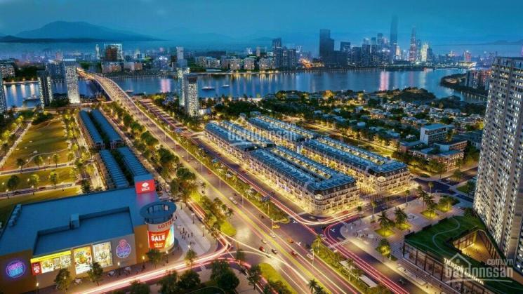 Bán nhà 4 tầng 120m2 full ngoại thất ốp đá toàn bộ đối diện với trường quốc tế Sky - Line Đà Nẵng ảnh 0