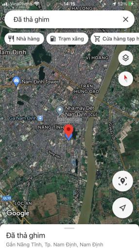 Bán đât đường Nguyễn Văn Trỗi, thành phố Nam Định, 64m2, giá 26tr/m2 ảnh 0