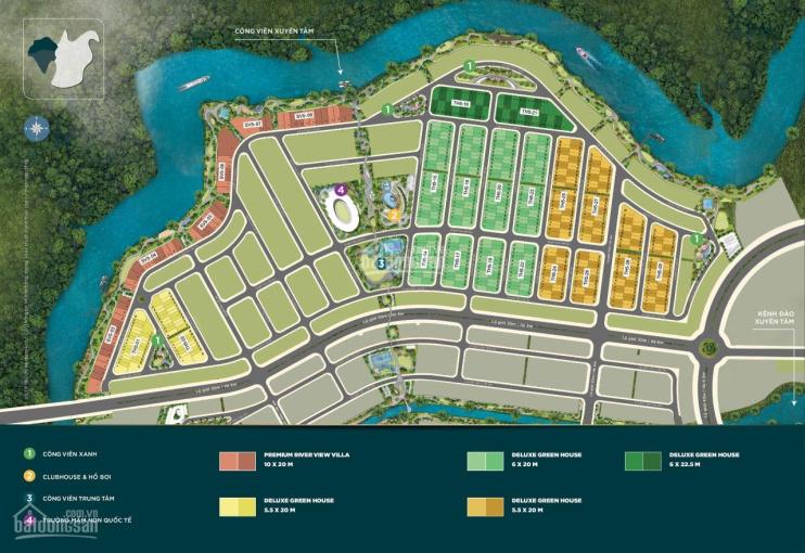 Đảo Phượng Hoàng mở booking nhà phố 5.5x20m chỉ 760tr (10%) ưu đãi 250tr, LH Novaland 0901234177 ảnh 0