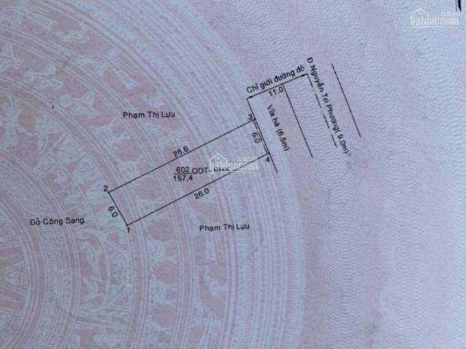 Mặt tiền Nguyễn Tri Phương, ngay cầu dầu đôi, vị trí vip. 0933292292 ảnh 0