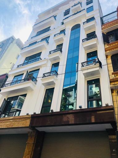 Bán tòa nhà phố lớn ngay gần hồ Kim Đồng 80m2x8T, thang máy, gara, giá 15.3tỷ, ở + KD thu 750tr/năm ảnh 0